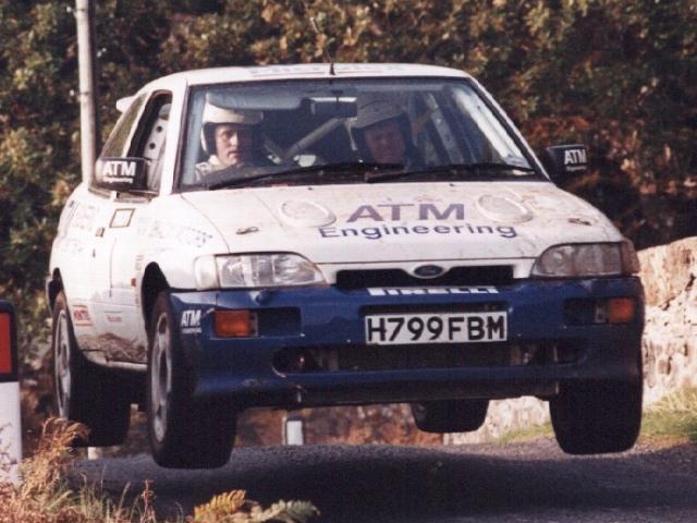 Car:1 Neil MacKinnon & Mike Stayte, Escort Cosworth
