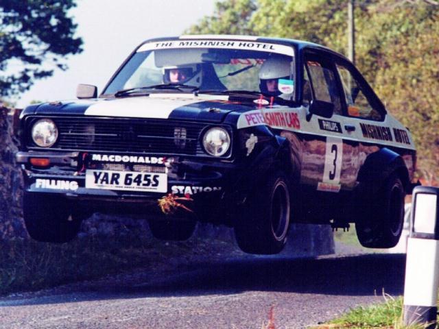 Car:3 Calum Duffy & Hugh Duffy, Escort 1998
