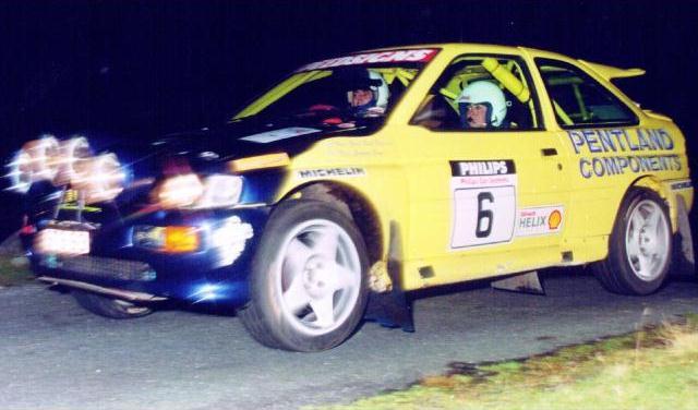 Car:6 Gordon Boyd & Stella Boyles, Escort Cosworth
