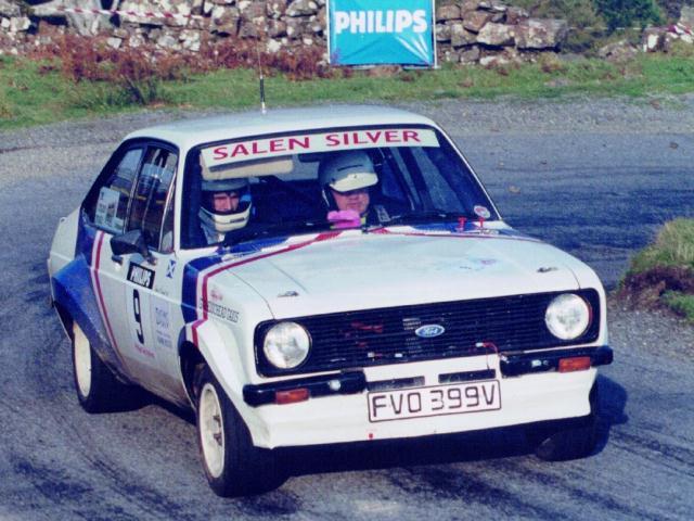 Car:9 Eddie O'Donnell Jnr & Eddie O'Donnell Snr, Escort 2000