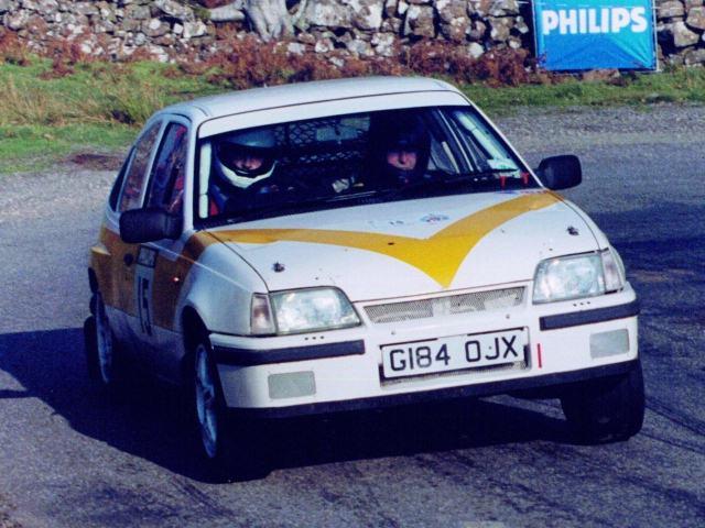 Car:15 Billy Bird & Plug Pulleyn, Astra GSi rwd