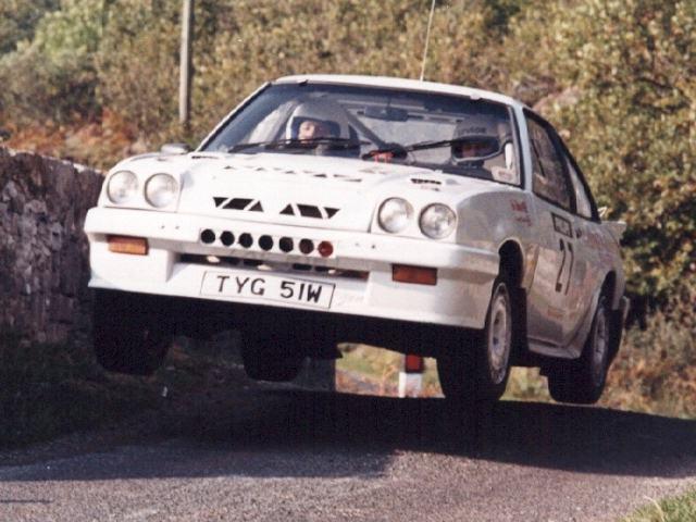 Car:27 Jimmy Christie & Jim Howie, Manta 16v