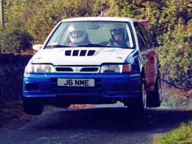 Car:49 Richard Thompson & Reg Smith, Sunny GTi-R