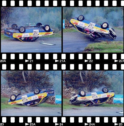 Car:150 Willie Bonniwell & Tom Smith, Escort Mk3rwd