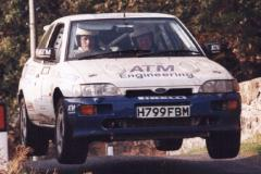 Car:1 Neil MacKinnon & Mike Stayte, Escort Cosworth