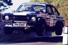 Car:3 Calum Duffy & Hugh Duffy, Escort 1998