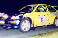 Car:6 Gordon Boyd & Stella Boyles, Escort Cosworth