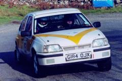 Car:15 Billy Bird & Plug Pulleyn, Astra GSi rwd