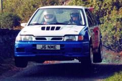 Car:49 Richard Thompson & Reg Smith, Sunny GTi-R