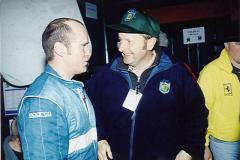 Callum Duffy & Neil Molyneux chatting