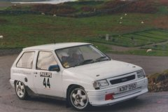 Car:44 Doug Weir & Duncan Brown, Nova 1598