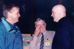 Then I poked him in the eye, just like this - Neil MacKinnon, Taff Edwards & Nigel Worswick