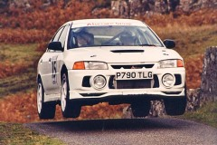 Car:15 Rob Barry & Alan Whittaker, Lancer EVO4