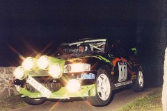 Car:17 Mark Jasper & Alan Snell, Escort Cosworth