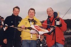 """How d'ya manage such a big chopper?"" - Neil Molyneux, Paul Tattersall & Iain Erskine"