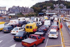 """The queue for the MacBrayne drive-through is as popular as ever"""