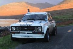 Car:1 Callum Duffy & Del Duffy, Escort Mk2 2001