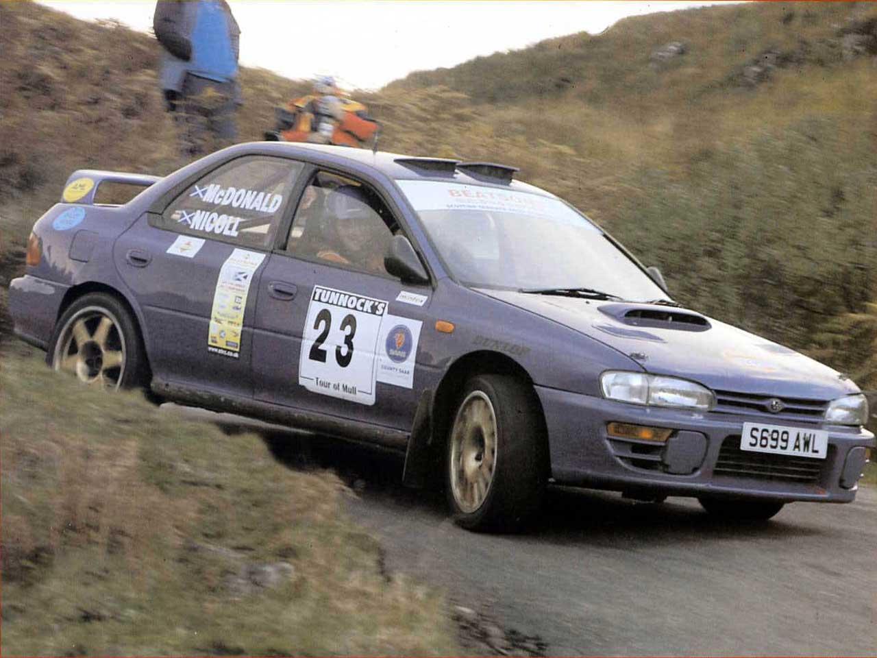 Eighth Overall & Best Scottish Crew -