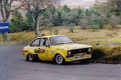 Car:2 James McGillivary Practising on Mull, Ford Escort MkII