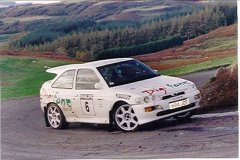 Car:6 Paul Kirtley & Jon Geldart, Escort Cosworth
