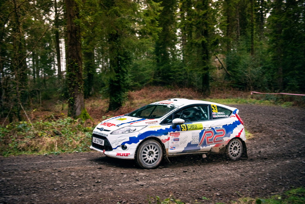 Ewan Tindall on the Malcolm Wilson Rally